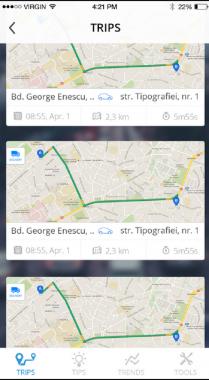 DriveNtell - Trips