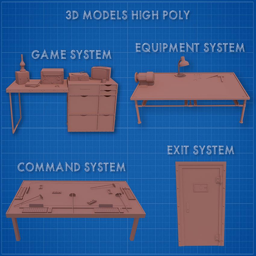 3d models high poly