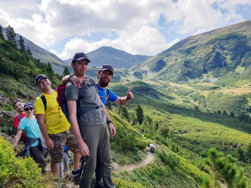 ASSIST Software Hiking Day in the Rodnei Mountains 2018