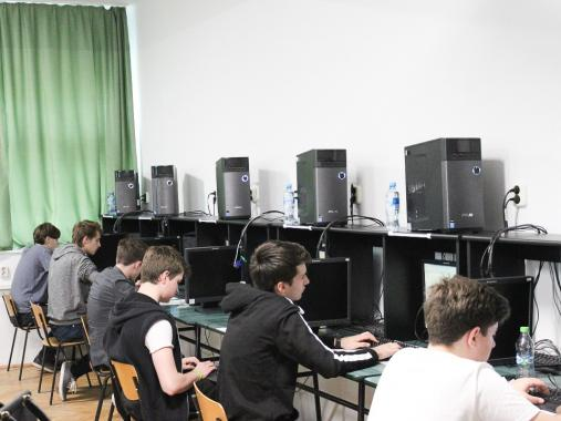 The students will complete, according to the specific Olympiad regulations,  two practical tests and then a final test