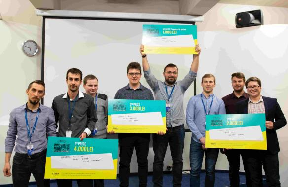 The winners of Best Innovative Minds 2018 - ASSIST Software
