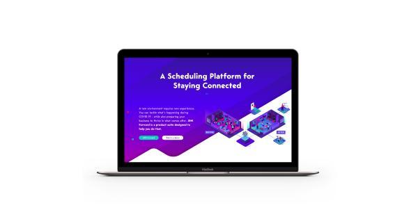 JRNI - scheduling platform - website homepage - ASSIST Software Romania