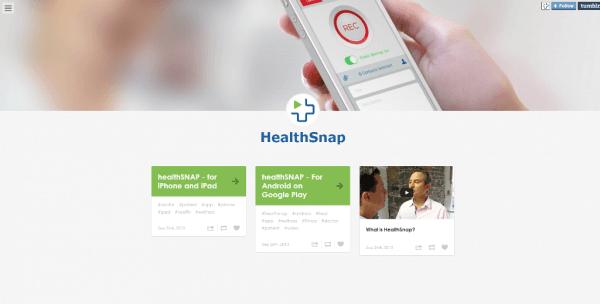 HealthSnap iOS App