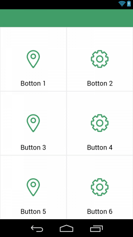 Android buttons