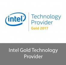 Intel Technology Provider Gold Certified Partner logo