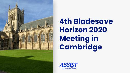 4th BLADESAVE Horizon 2020 Technical Meeting in Cambridge - promo image
