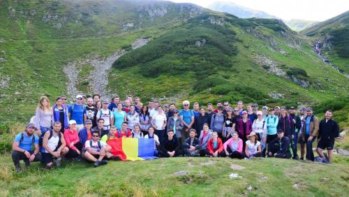 ASSIST Software team building in the Rodnei Mountains 2018