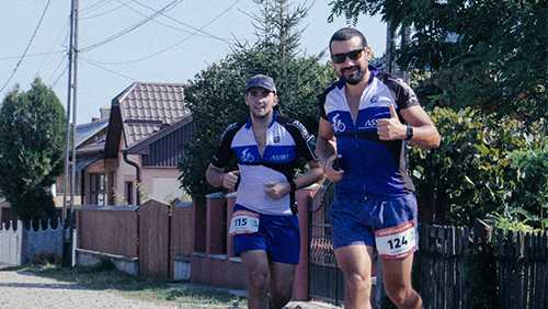 ASSIST Software sustainig life at Suceava Marathon