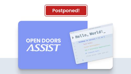 Open Doors ASSIST 2020 - Postponed event (promo)