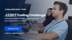 ASSIST Coding Challenge - online competition organized by passionate coders from ASSIST Software