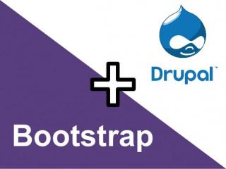 Apply bootstrap for drupal projects